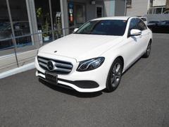 M・ベンツE220 d アバンギャルド 新車保証