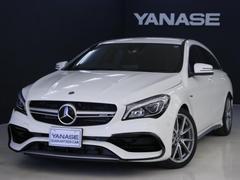 メルセデスAMGCLA45 4MATIC シューティング 新車保証