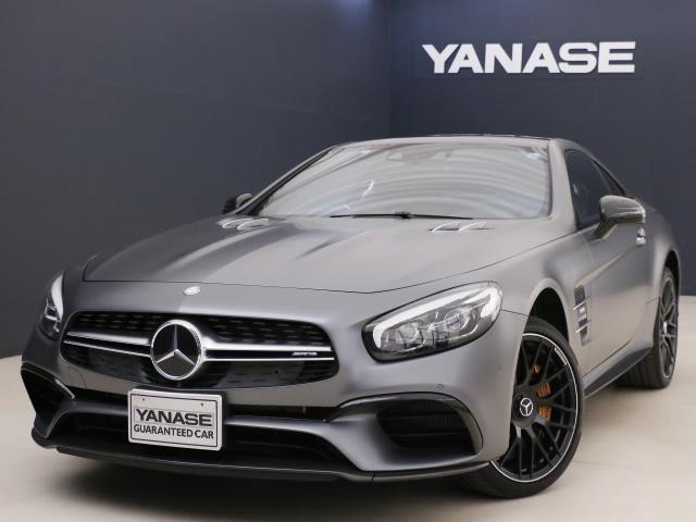 メルセデスAMG SL63 AMGカーボンパッケージ 新車保証