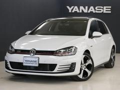 VW ゴルフGTIレザーパッケージ 1年保証 新車保証