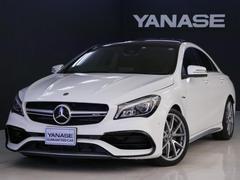 メルセデスAMGCLA45 4MATIC 2年保証 新車保証