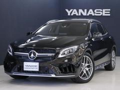 メルセデスAMGGLA45 4MATIC ヤナセ保証 新車保証
