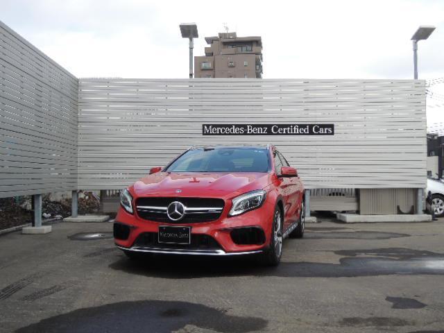 メルセデスAMG GLA45 AMG 4M 2年保証 新車保証
