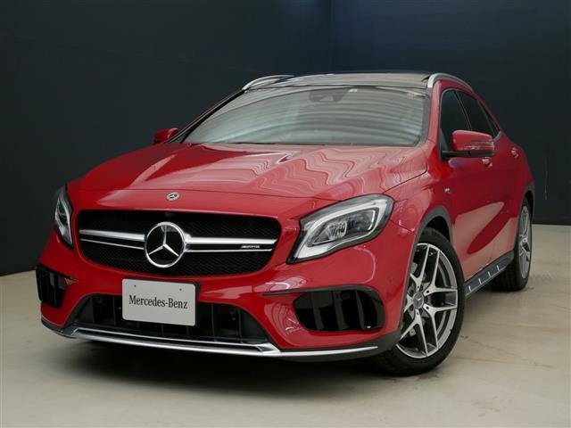 メルセデスAMG GLA45 4マチック 2年保証 新車保証