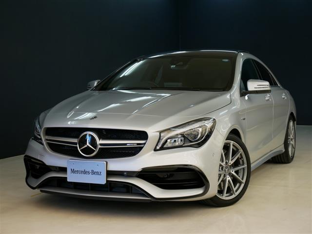 メルセデスAMG CLA45 4マチック 2年保証 新車保証