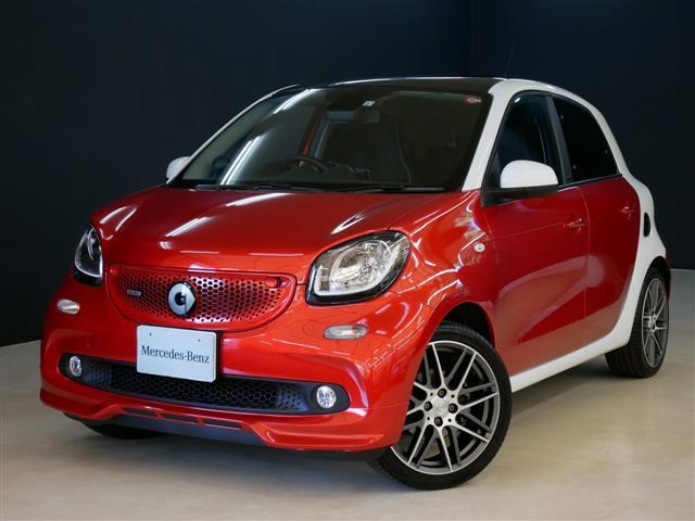スマート ブラバス フォーフォー エクスクルーシブ 1年保証 新車保証