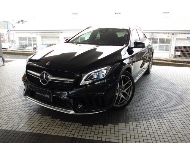 沖縄県浦添市の中古車ならGLAクラス GLA45 4マチック 2年保証 新車保証