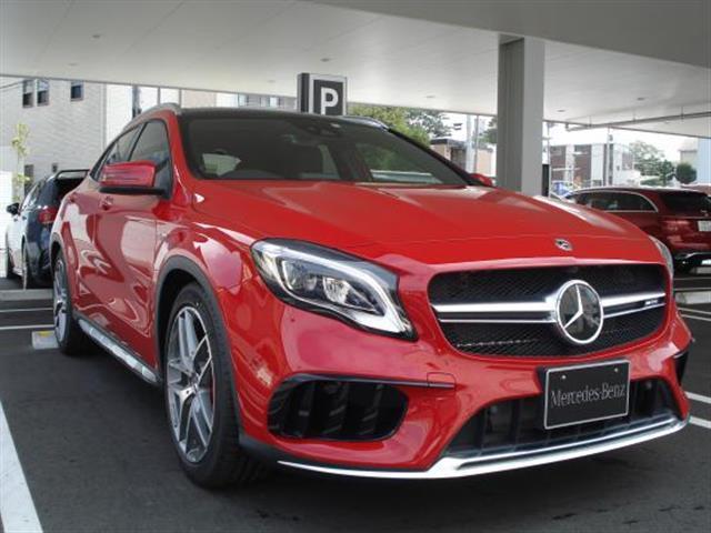 メルセデスAMG GLA45 4MATIC 2年保証 新車保証