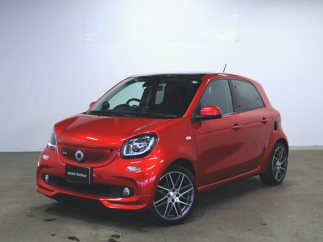 スマート スマートフォーフォー ブラバス エクスクルーシブ 2年保証 新車保証