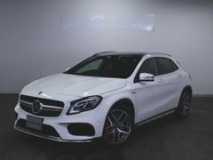 GLAクラスGLA45 4マチック 2年保証 新車保証