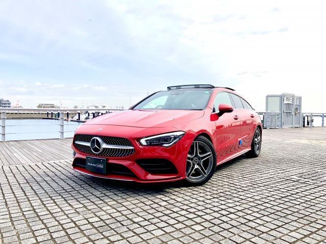 メルセデス・ベンツ CLA200 d シューティングブレーク AMGライン AMGレザーエクスクルーシブパッケージ レーダーセーフティパッケージ アドバンスドパッケージ ナビゲーションパッケージ 2年保証 新車保証
