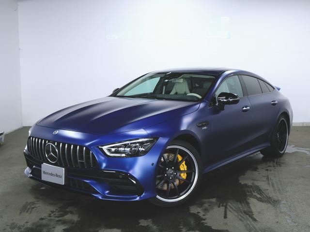 メルセデスAMG GT 4ドアクーペ GT53 4ドアクーペ 4マチック+ AMGダイナミックプラスパッケージ 2年保証 新車保証