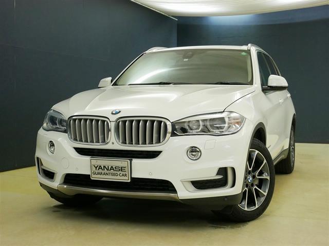 BMW X5 xDrive50i xライン 1ヶ月保証 本革 シートヒーター パワーシート トランクスルー コネクテッド機能 HDDナビ マルチ CD ミュージックサーバー 音楽プレーヤー接続 Bluetooth接続 フルセグ