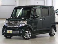 N BOXカスタムG・Lパッケージ 4WD 1セグSDナビ 自動ドア 禁煙車