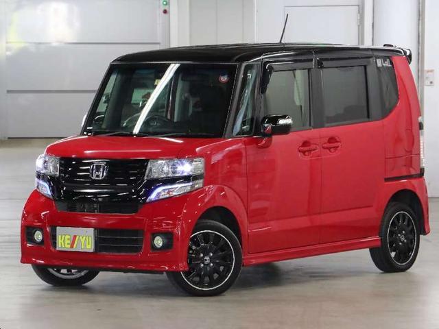 ホンダ G ターボSSパッケージ 4WD 自動ブレーキ 両側電動ドア