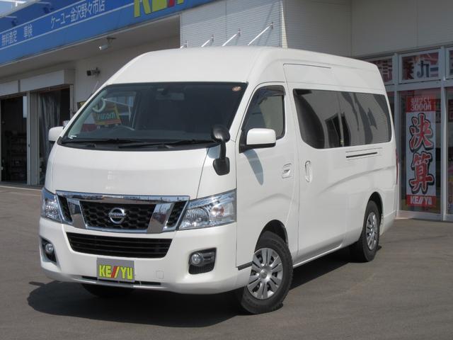 日産 キャラバンDXロング EXP 4WD軽油ターボSDナビHID