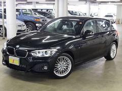 BMW118d Mスポーツ 登録済み未使用車 ドライビングアシスト