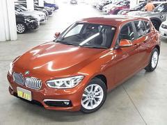 BMW118i スタイル 白ハーフレザー パーキングサポートP