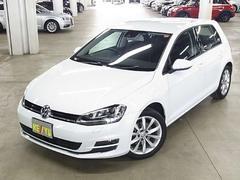 VW ゴルフTSIハイラインブルーモーションテクノロジー 純正ナビTV
