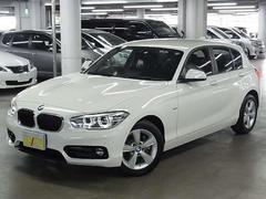 BMW118i スポーツ ドライビングアシスト HDDナビ BSI