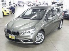 BMW218iグランツアラー ラグジュアリー ベージュ本革シート