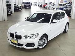 BMW118i Mスポーツ アクティブクルーズ 登録済み未使用車