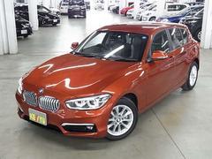 BMW118i スタイル 登録済み未使用車 パーキングサポートP