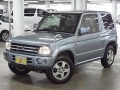 パジェロミニXR 4WD ワンオーナー 背面タイヤ 純正15インチアルミ