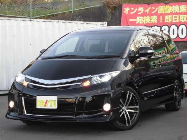 トヨタ アエラス 4WD 7人 地デジツインナビ 両側電動スライド