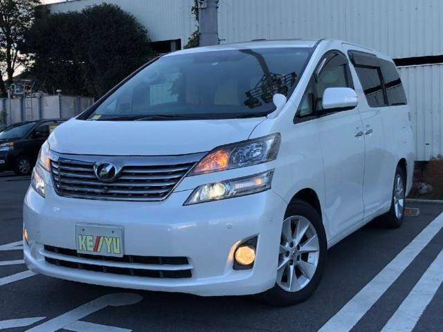 トヨタ V 7人乗りHDDナビ両側自動ツインサンルーフETCカーテン