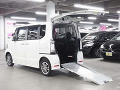 N−BOX+カスタムG 4WD 車いす仕様車 メモリーナビ パワースライドドア