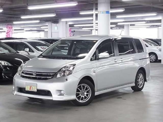 トヨタ プラタナ ワンオーナー 12セグHDDナビ 助手席側電動ドア