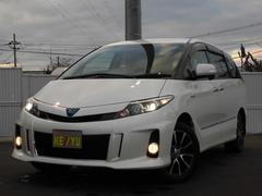 エスティマハイブリッドアエラスプレミアムエディション 7ニン 4WD ツインナビ