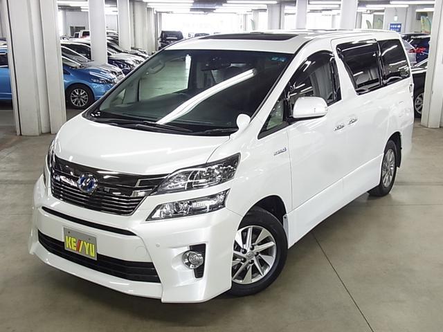 トヨタ ZR Gエディション 4WD ムーンルーフ 本革電動シート