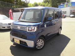ウェイクL−SA 4WD 地デジナビ シートヒーター シートカバー
