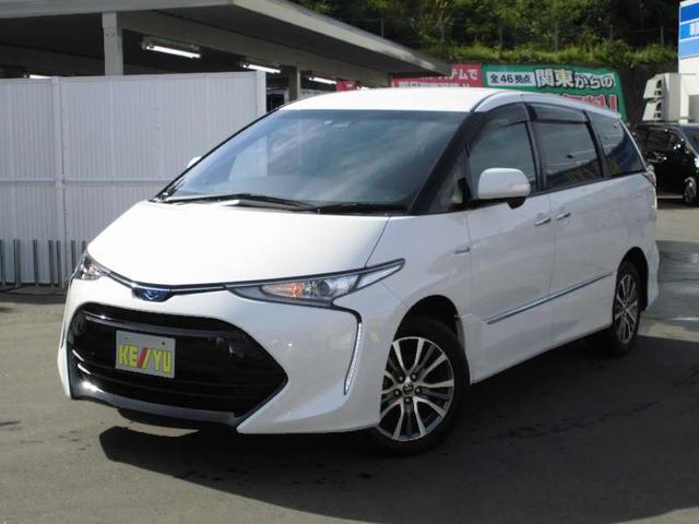 トヨタ アエラス プレミアム 4WD 地デジナビ 衝突軽減サポート