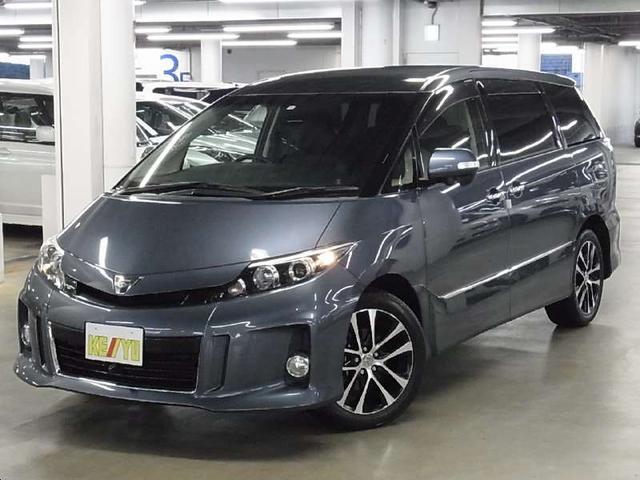 トヨタ アエラスプレミアム 7人乗り 4WD フリップダウンモニター