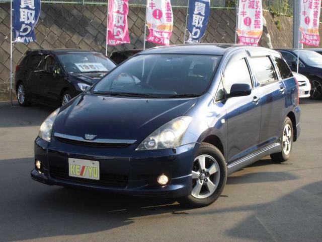 トヨタ X Sパッケージ 4WD HDDナビ 後席モニター