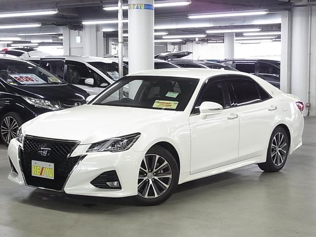 トヨタ クラウン アスリートS-T セーフティセンスP メーカーSDナビ