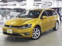 VW ゴルフヴァリアントTSIハイライン パドルシフト ACC