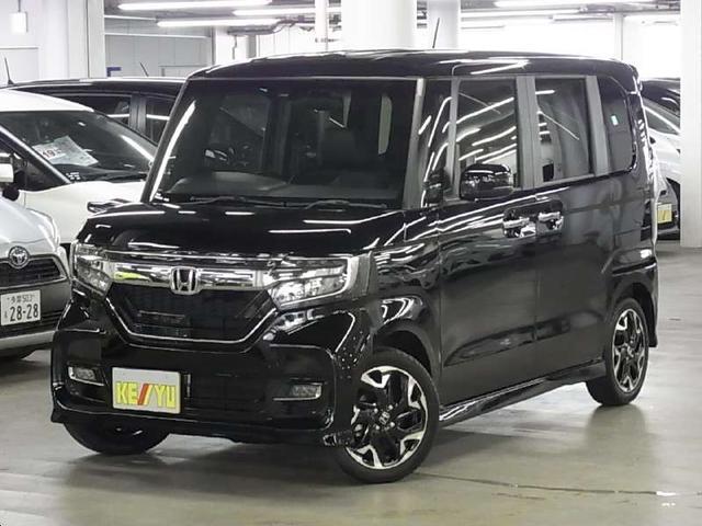 ホンダ N-BOXカスタム GLターボホンダセンシング 両電動スライド レーダークルーズ