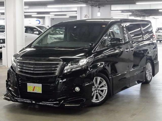 トヨタ アルファード 2.5SAパッケージ TRDエアロ 後席モニター 10型ナビ