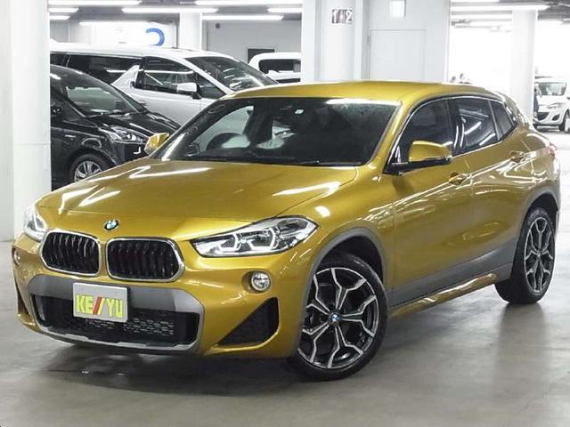 BMW X2 sDrive 18i MスポーツX 衝突軽減ブレーキ パークアシスト クリアランスソナー iDrive バックカメラ BLUETOOTHオーディオ