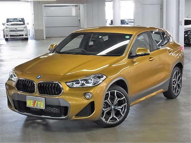 BMW X2 sDrive 18i MスポーツX 7DCT 衝突回避・被害軽減ブレーキ パワーバックドア iDrive BTオーディオ ETC iSTOP 純正19AW ランフラット シートヒーター マイクロヘキサゴンクロス&アルカンタラコンビシート