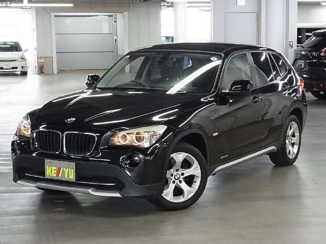BMW X1 sDrive 18i carrozzeriaHDDナビ 本革電動シート シートヒーター シートメモリー CD・DVD AUX 純正17インチAW FR