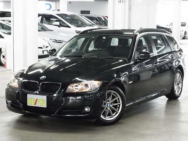 BMW 320iツーリング 黒革パワーシート シートメモリー シートヒーター iDrive ミラー一体型ETC ルーフレール コンフォートアクセス