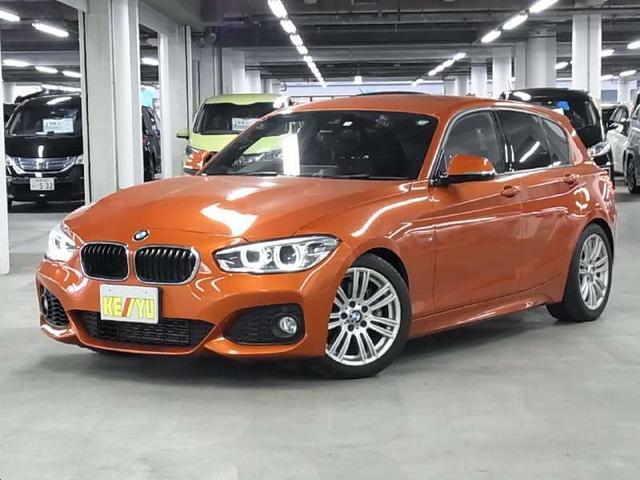 BMW 1シリーズ 118i Mスポーツ 後期 衝突回避・被害軽減ブレーキ アイバッハダウンサス ドライブレコーダー クルーズコントロール iDrive BTオーディオ ミラー一体型ETC アイドリングストップ コンフォートアクセス 禁煙車