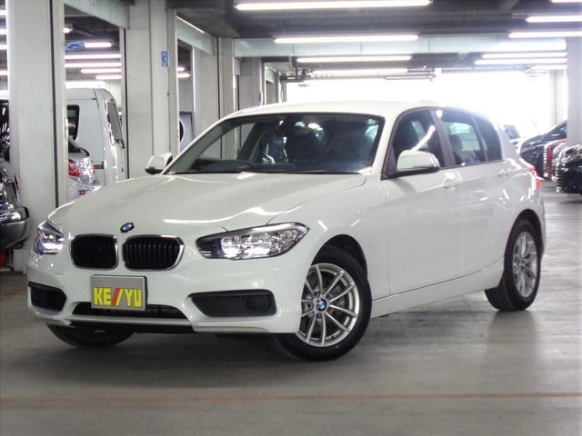BMW 1シリーズ 118i 1オーナー HDDナビ ETC Bluetooth アイドリングストップ 純正16インチアルミホイール 取扱説明書 記録簿 禁煙車
