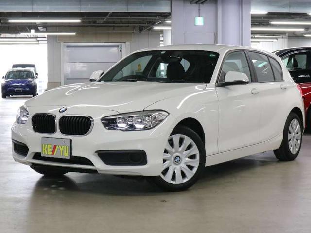 BMW 1シリーズ 118i 後期 iDriveナビ Bluetoothオーディオ CD・DVD再生 アイドリングストップ SPORTモード 純正ランフラットタイヤ MTモード スマートキー スペアキー・記録簿・取扱説明書 禁煙車