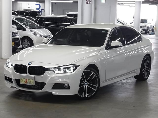 BMW 318i Mスポーツ エディションシャドー インテリジェントセーフティ シートヒーター 電動黒レザーシート クルーズコントロール クリアランスソナー iDriveナビ バックカメラ Bluetooth ETC2.0 アイドリングストップ 禁煙車